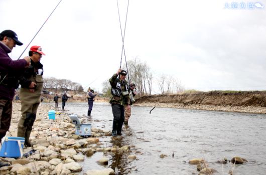 鮎釣り大会